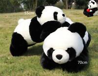 Sprawled Panda Bear Plush Toys Stuffed Animal Cute Soft Toy Doll Birthday Gifts