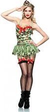 MAJOR TROUBLE Army Camouflage Camo Garter Romper Bodysuit Tutu Tulle Skirt Set M