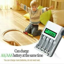 LCD Smart Battery Charger Rechargeable AA / AAA Rechargeable Battery EU plug