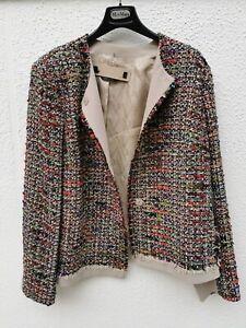 🌟MARINA RINALDI  Multicolour  Blazer  PLUS size 21- W12USA_50IT_42D_ 46FR_16UK