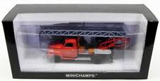 Minichamps 1/43 Scale 439 051070 Opel Blitz 1,75t Drehleiter Feuerwehr Sinsheim