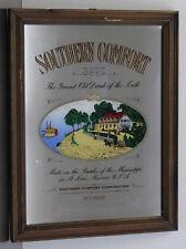 Ältere Bar Werbung - Spiegel Southern Comfort Whisky Werbespiegel Bilderspiegel