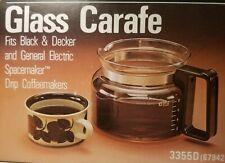 VTG Spacemaker Carafe Drip Coffeemaker 3355D Black & Decker General Electric NOS