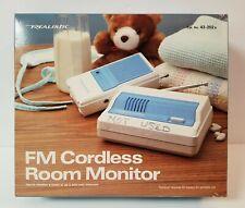 NIB Vintage 1986 Realistic FM Cordless Room Monitor Radio Shack 43-202A