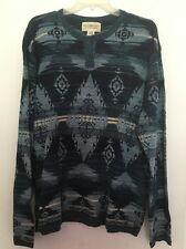 Denim And Supply South Wester Print Men Light Sweater Size XXL 100% Cotton