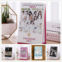 Kpop TREASURE BLACKPINK GOT7 SEVENTEEN TWICE 2021 Desktop Mini Calendar