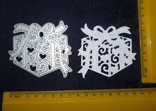 Gift Box / Ribbon Bow / Present / Birthday / Metal Cutting Die/ Ornate