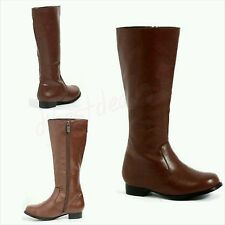BROWN BOOTS FOR BOYS SIZE S(11/12)