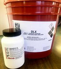 Ulano Dlx Dual Cure Emulsion For Screen Printing Gallon 1gufdlx