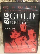 DVD:  BIG GOLD DREAM - PLAY TO WIN: The Sound of Young Scotland (2015) G McPhee