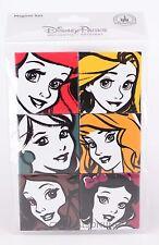 NEW Authentic Disney Parks - Princess Magnet Set - 6 Ariel Belle Snow Rapunzel