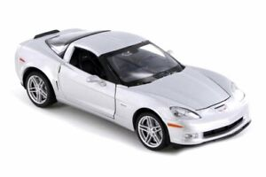 2007 CHEVY CORVETTE Z06 HARD TOP WELLY 22504WSV 1/24 scale DIECAST CAR