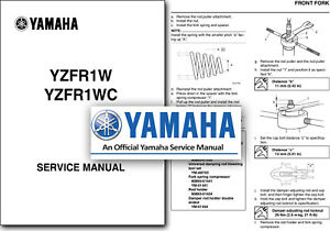 Yamaha Yzf R1 Motorcycle Service Repair Manuals For Sale Ebay