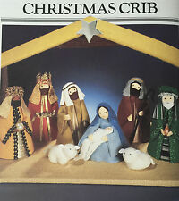 SEWING PATTERN Jean Greenhowe Christmas Crib Nativity Scene & Stable Mary RARE