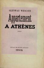 Appartement à Athènes - Glenway Werscott - Stock 1947  - Roman