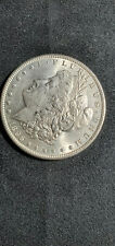 Morgan 1896 P Raw, Details, Cleaned Obverse,