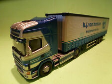 CORGI TOYS   1:50  - SCANIA 420  -  H.J. VAN BENTUM  -   IN  GOOD  CONDITION