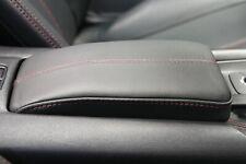 Armlehnenerhöhung Mazda MX-5 ND/RF Leder schwarz – Naht rot