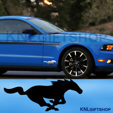 Ford Mustang 5.0 GT Decal Vinyl Horse Racing Sports Bumper windshield (2 pieces)