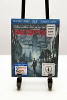 Inception (Blu-ray/DVD, 2010, 2-Disc Set) Lenticular Cover