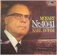 Böhm, Mozart Nr. 40/41,  G/VG,  LP (5597)