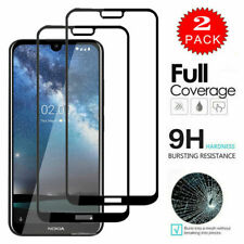 For Nokia 7.2 6.2 4.2 3.2 2.2 5.1 2.1 Full Cover Tempered Glass Screen Protector