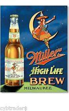 Miller High Life Brew  Ad  Refrigerator Magnet