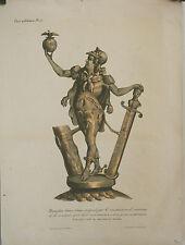Gravure Caricature Originale Napoleo