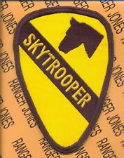 1st Air Cavalry Division SKYTROOPER tab patch