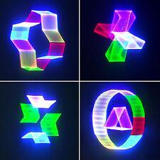 PRO Stage Lighting 3D Animation RGB Green Red Blue Full Color Laser light ILDA