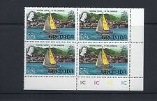 GRENADA 1968-71 YACHTING (SG 317a 75c) VF MNH pl blk/4