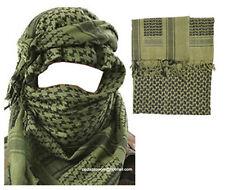 Para Hombre Ejército Militar Desert Tactical cuello cabeza Wrap combatir Sol Gorro Bufanda Shemagh