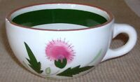Stangl Pottery Thistle Pattern Flat Cup Only 2""
