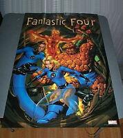 36 x 24 Marvel Comics Fantastic Four promotional comic book promo poster:3 x2 ft