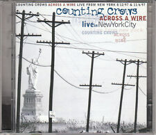 COUNTING CROWS - ACROSS A WIRE - LIVE IN NEW YORK CITY - 2 CD (COME NUOVO)