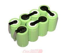 One Nickel Metal-Hydride (Ni-MH) 9.6V 1300mAh Rechargeable Battery Pack 8SXT US