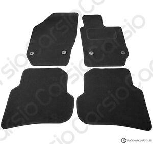 Seat Ibiza 2008 to 2017 Tailored Black Car Floor Mats Carpets 4pc Set