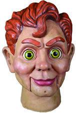 Goosebumps Slappy The Dummy Full Head Mask, Beige Red, One-Size