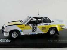 "IXO Opel Ascona B 400 Rallye (1979) ""OPEL EURO TEAM"" 1:43 NEU/PC-Vitrine"