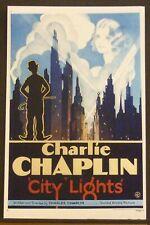 City Lights 11x17 poster (Mp889) 1931 Charlie Chaplin