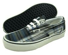 Vans Vulcanized Era Authentic Plaid Navy Kingdom Canvas Shoes New In Box Mens 4