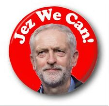 JEZ WE CAN!  - 1 inch / 25mm Button Badge - Labour Election Jeremy Corbyn Vote