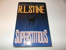 Superstitious by R. L. Stine HC used SFBC edition