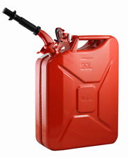 Wavian Original Authentic NATO Jerry Can and Spout, Red - 20L