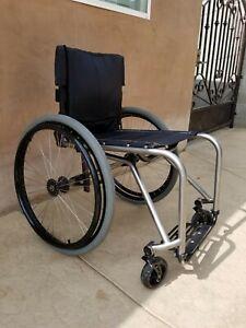 "Ti Lite Wheelchair Titanium Ti-Lite TRA In Great shape 17"" Wide"