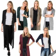 Polyester Hooded Winter Jumpers & Cardigans for Women