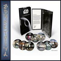STAR WARS THE SKYWALKER SAGA COMPLETE BOXSET  MOVIES 1 - 9 ****BRAND NEW DVD***