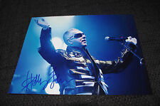FRANKIE GOES TO HOLLYWOOD Holly Johnson signed Autogramm 20x28 cm Foto InPerson