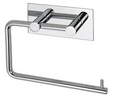 Polished Stainless Steel Toilet Roll Holder Self Adhesive Stick on A3203P
