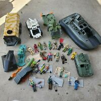 Vintage GI Joe Lot-- figures, accessories, vehicles and cards